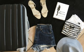 How to live out of a carry onsuitcase